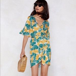 NWT Tropical Print Dress